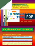 10 - Tecnica Del Fichaje
