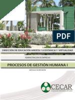 Procesos de Gestión Humana I