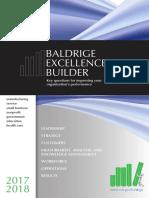 2017 2018 Baldrige Excellence Builder