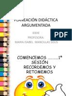1a SesIntroduccPLANEACIÓN DIDÁCTICA ARGUMENTADA PARA SECUNDARIAS  CURSO.pptx