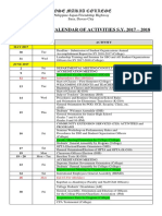 Calendar of Activities 2017-2018_Institutional Calendar