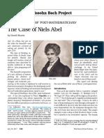 Eir - David Shavin - The Case of Niels Abel
