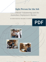 Right Person for the Job - AVI and MISGM