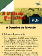 A Reforma Protestante_Soteriologia
