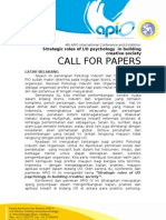 Call for Paper Konferensi APIO BerKOP