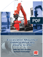 ERKE Group, PTC Excavator Mounted Vibrodriver Catalogue