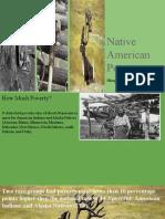 native american poverty dhaya and alaa