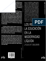 Bauman Z.  Los retos de la educacion en la modernidad liquida.pdf
