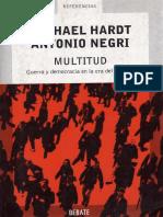 Negri Antonio, Hardt Michel - Multitud