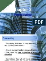 Forecasting Edited