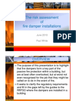 The risk assessment of fire damper installations.pdf