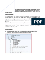 Status Profiles in SAP