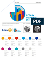 ColorChart 2017-18 Rotary's Theme