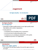 Operations Quality Management
