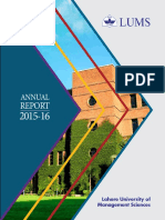 Lums Annual Report - 2015-16