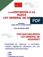COMENTARIOS A LA NUEVA LEY GENERAL DE ADUANAS (1).ppt