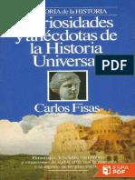 Curiosidades y Anecdotas de La - Carlos Fisas