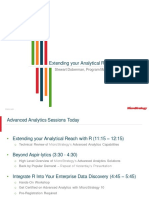 MSTRWorld2015 T3 S5 Extending Your Analytical Reach With R