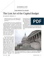 Larouche - The Lost Art of the Capital Budget