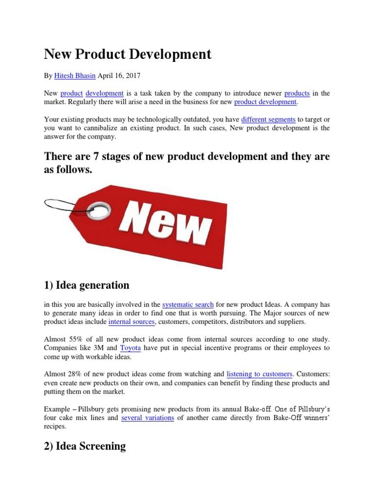 New Product Development Analysisisss | New Product Development