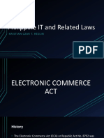 Philippine IT and Related Laws(Ethics)