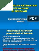 PENJARINGAN SEKOLAH KLAS 1 TERBARU.ppt