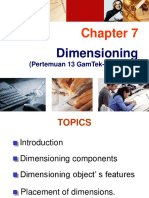 Chapter 07 Dimensioning