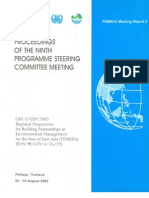 Proceedings of the Ninth Programme Steering Committee Meeting