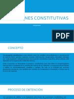 Ecuaciones constitutivas