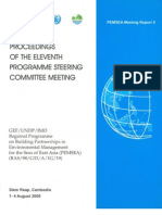 Proceedings of the Eleventh Programme Steering Committee Meeting