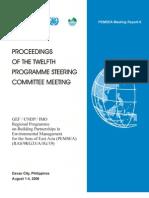 Proceedings of the Twelfth Programme Steering Committee Meeting