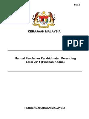 manual perolehan perkhidmatan perunding edisi 2016
