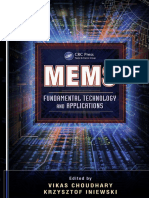 (Devices, circuits, and systems) Vikas Choudhary-MEMS_ fundamental technology and applications-CRC Press (2013).pdf