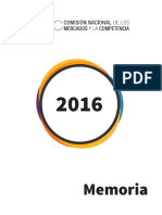 CNMC Memoria 2016