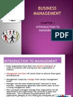 CHAPTER 1management Slide (1)