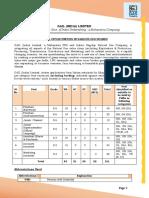 GAIL Recruitment 2017 - 151 Vacancies - Official Notification