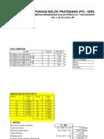 Perhitungan Balok Pertegang.xls