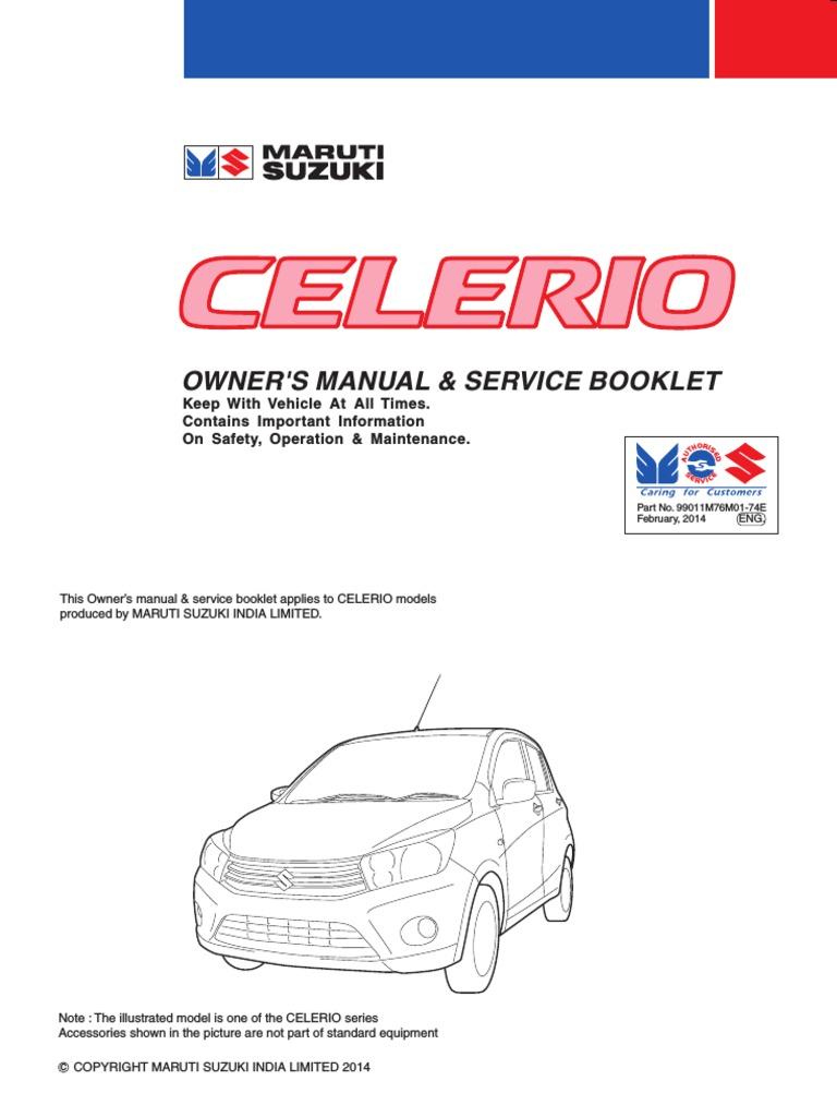 celerio pdf brake clutch rh scribd com Maruti Ritz Rate Maruti Ritz Rate