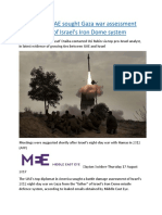 EXCLUSIVE  UAE sought Gaza war assessment from 'father' of Israel's Iron Dome system.docx