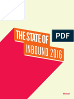 HubSpot State of Inbound Report 2016