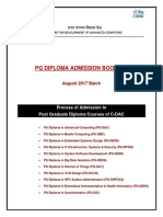 Admission Cdac Booklet