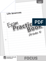 Focus Life Sciences Grade 10 Exam Practice Book