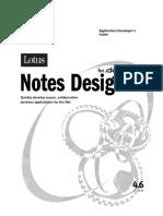 Application Developer's Guide for Notes Designer