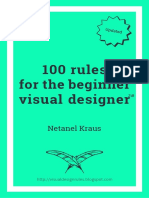 100 Rules for the Visual Designer 640x960