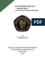 Rangkuman Bab 2 Akuntansi Keuangan