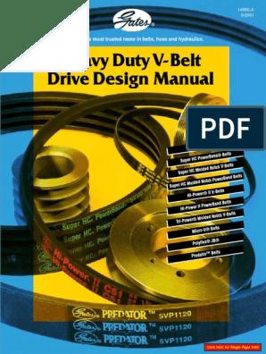 Gates Tri-Power Drive  Belt AX42,AX45,AX47,AX50,AX52,AX65,AX67,AX68