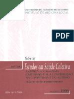 Série Estudos Saúde Coletiva