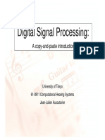 610811 Digital Signal Processing