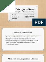 Historia Jornalismo Memoria