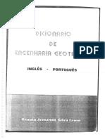 Dicionário de Engenharia Geotécnica
